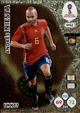 Panini WM World Cup Russia 2018 -  Nr. 442 - Andres Iniesta - Icon
