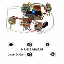 Bartolini HR-5.2AP Pre-Wired 3 Band EQ Active/Passive Preamp