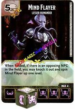 043 MIND FLAYER Lesser Humanoid -Common- BATTLE FOR FAERUN - D&D Dice Masters