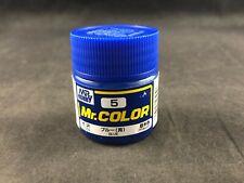Mr. Hobby Mr Color 5 Gloss Blue  - 10ml Glass Jar New Ships Free