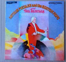 Arthur Fiedler & The Boston Pops* Play The Beatles UK LP