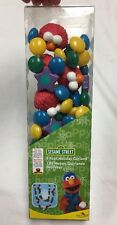 New Sesame Street Elmo 6 Foot Holiday Christmas Garland Decoration :