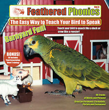 Feathered Phonics #3 CD: Teach Your Bird to Talk & Barnyard Fun! - FREE SHIPPING