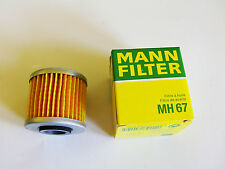 ORIGINAL Mann FILTRO DE ACEITE MH67 SUZUKI
