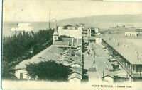 POSTCARD EGYPT PORT TEWFIEK