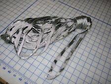 "nylon 1/2"" thick strap webbing USA made dog 100 ft yellow tracer USGI military"