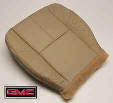 2008 GMC Sierra 1500HD 2500HD 3500 SLT Driver Side Bottom LEATHER Seat Cover Tan