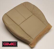 2008 GMC Sierra 1500HD 2500HD 3500 SLT Driver Side Bottom LEATHER Seat Cover Tan