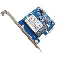 LT304 PCIE SATA 3.0 + MSATA Transmission bureau carte d'extension dédié