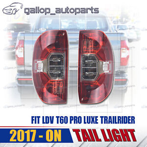 For LDV T60 PRO LUXE TRAILRIDER 2017-ON TAIL LIGHT REAR BACK LAMP L & R