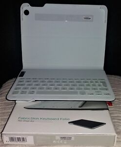 Logitech FabricSkin Keyboard Folio Case i5 For IPAD AIR ONLY - Carbon Black