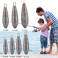 1PC 20G~80G All Size Lead Weights Sinkers for Your Sea / Carp Fishing Tackle