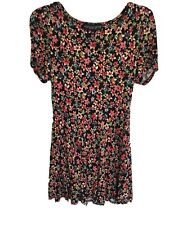 Ladies Topshop Dress Size 12 Petite Worn Once