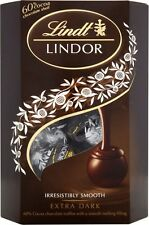 Lindt Lindor Truffles Extra Dark Chocolate - 60% Cocoa (20x200g)