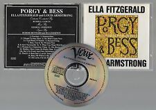 ELLA FITZGERALD & LOUIS ARMSTRONG 1958 Porgy & Bess CD USA Verve Jazz