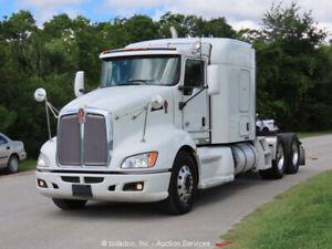 2015 Kenworth T660 T/A Truck Tractor Sleeper Air-Ride Diesel PTO A/C bidadoo