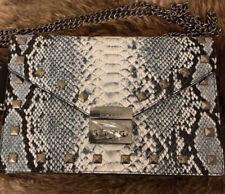 Bagdley Mischka Vegan Leather Snakeskin Crossbody Bag, NWT, Retail $199