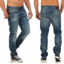 G-Star Herren 3301 Jeans In Karottenform blau 32w X 34l