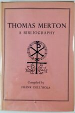 Thomas Merton: A Bibliography - Dell'Isola - FINE 1st Edition in Wrapper - 1956