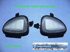 LED SMD Umfeldbeleuchtung kalt weiß SEHR HELL VW SEAT Außenspiegel Pfützenlicht