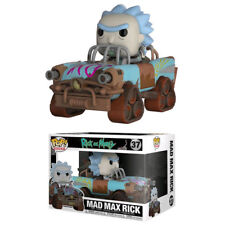 Rick and Morty - Mad Max Rick Pop! Ride Figure NEW Funko