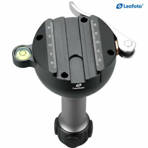 Leofoto YB-75MC 75mm video bowl leveling base with platforms for support