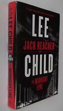 Lee Child :  The Midnight Line. Hardback. Delacorte Press , 2017. First Edition.