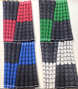 NEW dual compound golf grips standard midsize jumbo oversize pick size & colour