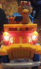 000 Vintage Illco Bigbird Muppets Sesame Street Firetruck? Car Toy Battery Power