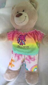 Build a bear BAB girls clothes fit 40cm  length teddy pyjamas inc PP handmade