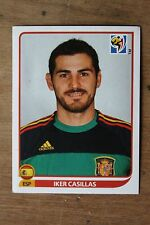 Vignette PANINI - South Africa 2010 FIFA WORLD CUP - N°564 IKER CASILLAS ESPAGNE