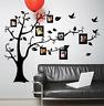 Photo Frame Tree Vinyl Home Room Decor Wall Sticker Bedroom Removable Mural