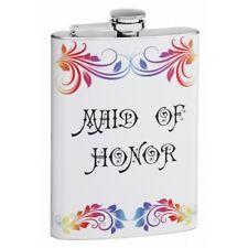 Maid of Honor Custom 8 oz Hip Flask