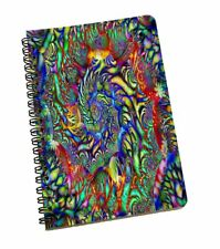 Abstract Printed Notebook Journal Diary Notebook Gift For Students 120 Page