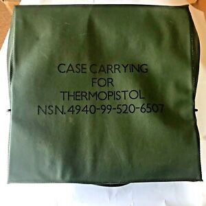 Carrying Case for Thermopistol NDN.4940-99-520-6507 MOD. Other uses