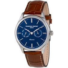 Frederique Constant Classics Blue Dial Mens Watch FC-259NT5B6