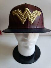 🔥RARE! New Era DC Superheroes Justice League Wonder Woman fitted hat cap 7 1/2
