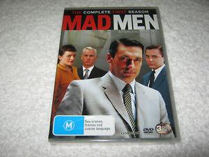 Mad Men - Season 1 - New Sealed DVD - R4