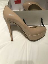 Aldo Nude Platform Court Shoes UK Size 4.5/37.5 Worn Once RRP £65