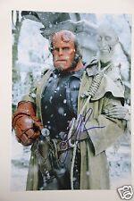 Ron Perlman (Hellboy) 20x30cm foto + autógrafo/AUTOGRAPH signed en persona