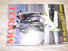 µµ Modele Magazine n°401 ASW 17 Calypso Plum-Pudding SB 10  Me 109