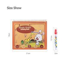 Libro De Agua Mágica Niños Niños Libro Para Colorear De Agua Paquete de 2