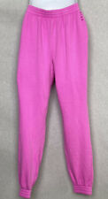 Victoria's Secret Pink Womens Sweatpants Size Small Joggers Pockets Cotton Blend