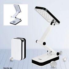 30 LED SMD Recargable Portátil Plegable Con Mesa Escritorio Estudio Lámpara Luz de Lectura