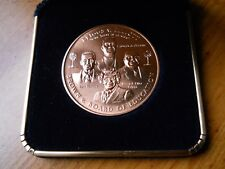"1.5"" Brown v. Board of Education Bronze Medal w/case"