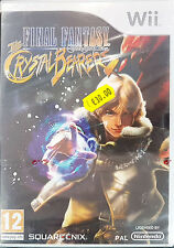 FINAL FANTASY CRYSTAL CHRONICLES:THE CRYSTAL BEARER Nintendo Wii Game 2009-PAL-