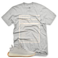 New SUCCESS FACTS T Shirt for Adidas Yeezy 350 v2 Sesame Butter Mauve