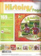HISTOIRES DE PAGES N°34 LIGNES / 16 IDEES PRINTEMPS / ENTRE VINTAGE ET MODERNITE