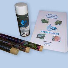 Kit de inicio water transfer printing hidroimpresion hydrographics film wtp dip