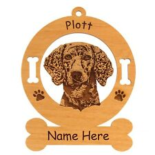 Plott Hound Head Dog Ornament Personalized With Your Dogs Name 3710